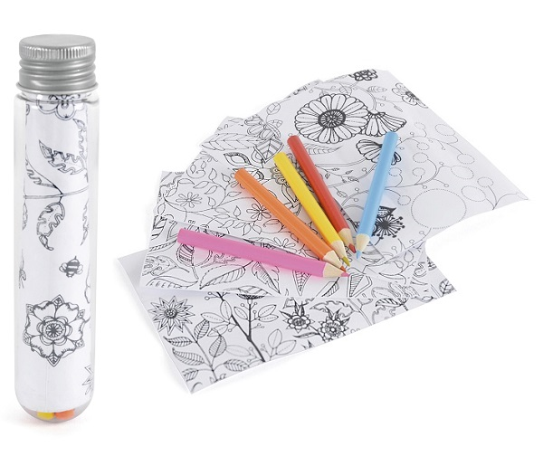 Tube Colouring Set
