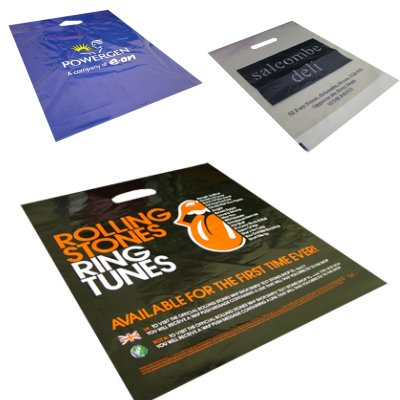 Large Size (16x20x3inch) Colour Carrier Bags
